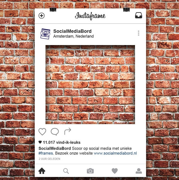 Lookalike Instagram Frame