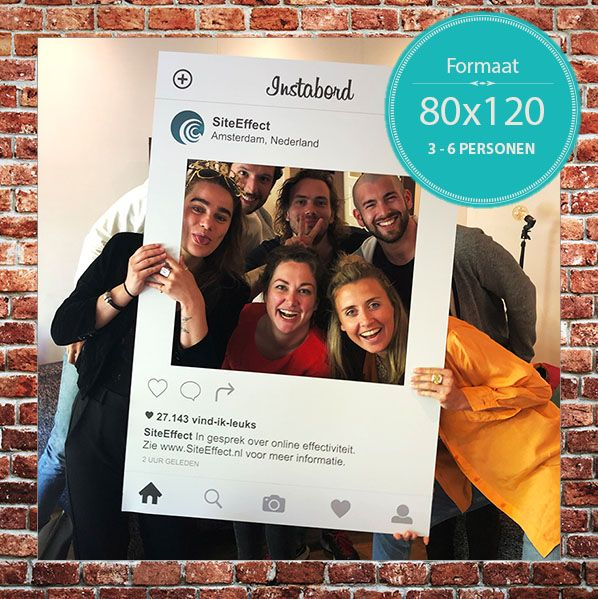 Instagram Frame 80x120cm