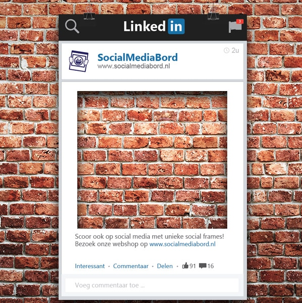 Lookalike LinkedIn Frame