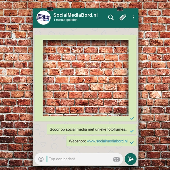 Lookalike Whatsapp Frame