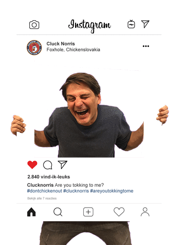 Example Instagram Frame