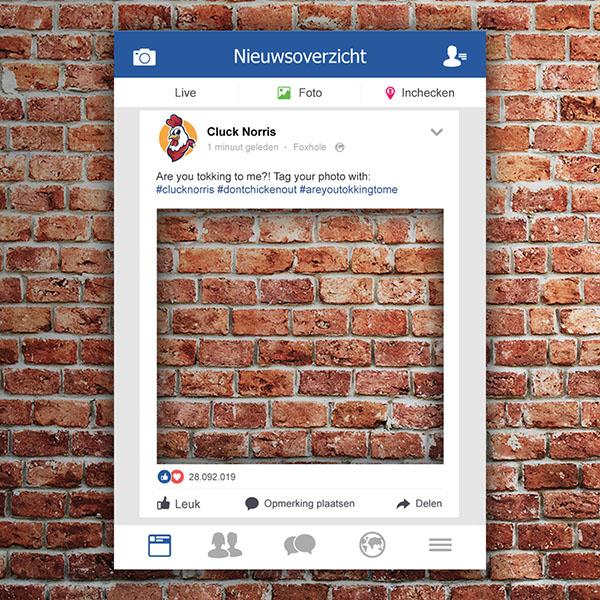 Facebook Frame (Facebook Bord)
