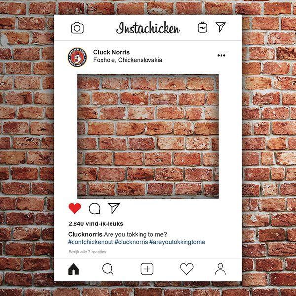 Instagram frame Instagram bord instaframe bestellen