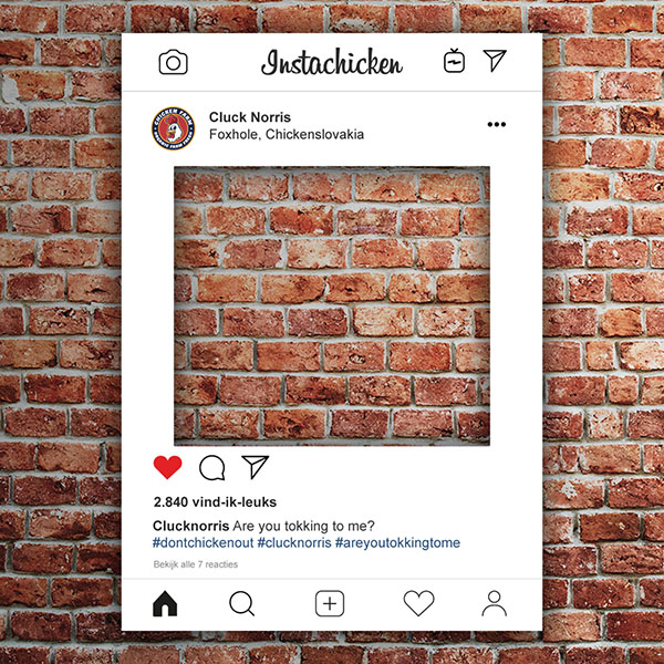 Instagram Frame (Instagram Bord)