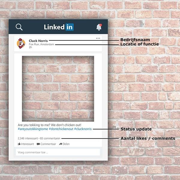 Linkedin Frame Linkedin Bord Hoe Te Bestellen